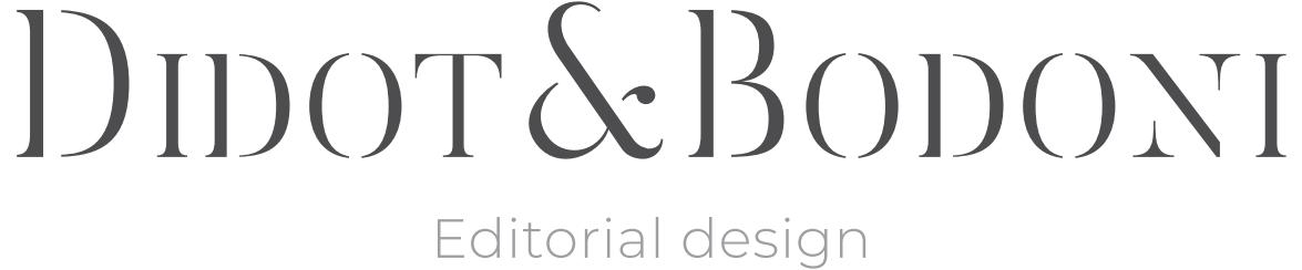 Didot&Bodoni – Estudio de diseño editorial en Madrid